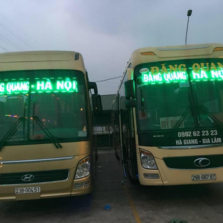 Nhà xe Đăng Quang có chất lượng dịch vụ tuyệt vời
