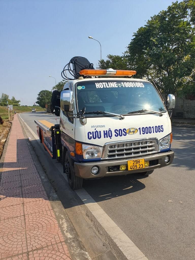 Xe cứu hộ Hoàng Phú
