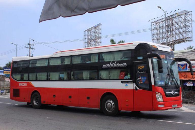 Xe khách Thành Lợi tuyến Vũng Tàu - An Giang