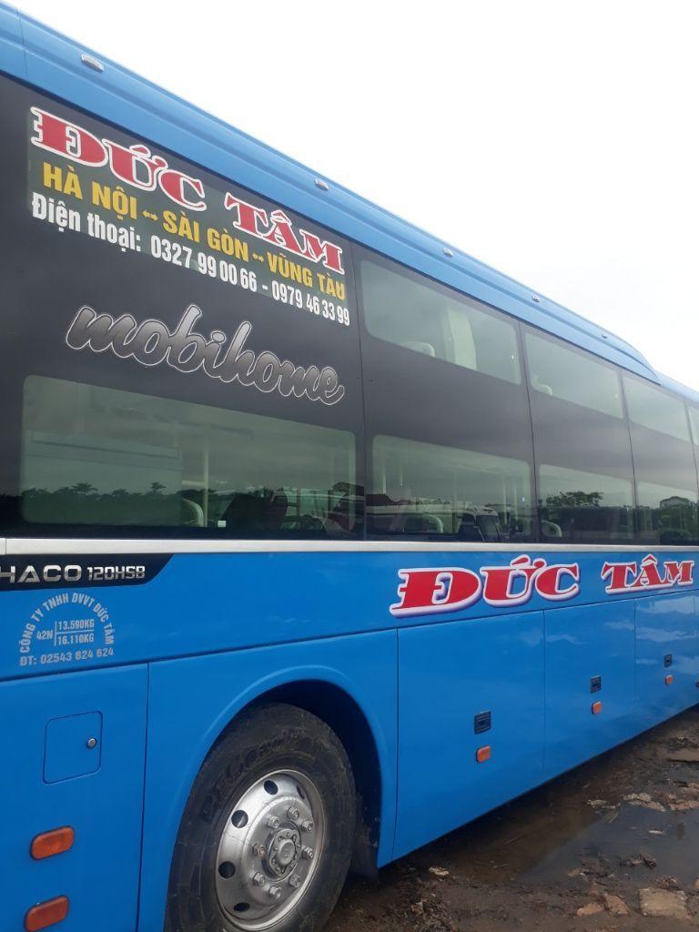 Xe khách Vũng Tàu – Hà Nội Đức Tâm