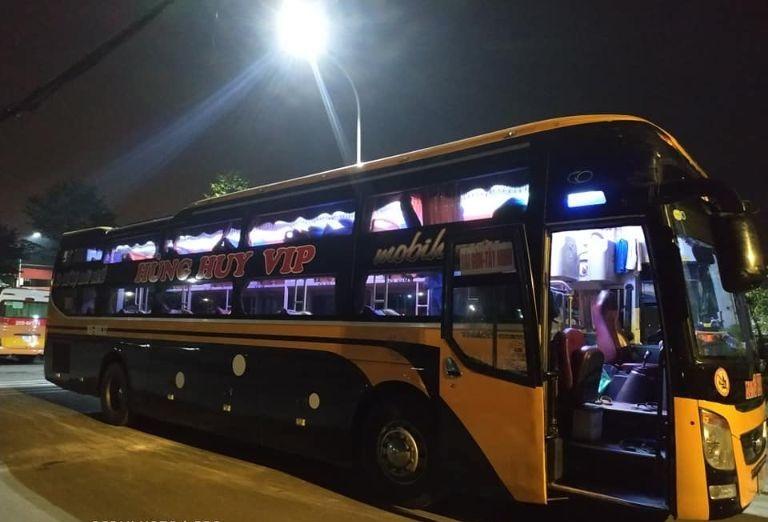 Xe khách Hà Nội Tây Ninh chất lượng nhất – Nhà xe Hùng Huy