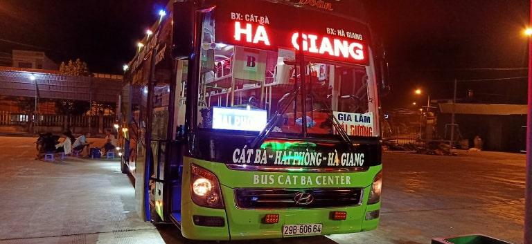 Bus Cát Bà Center - Xe khách Hải Phòng đi Yên Phong Bắc Ninh