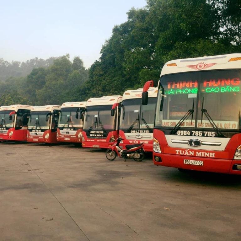Xe khách Hải Phòng Bắc Ninh
