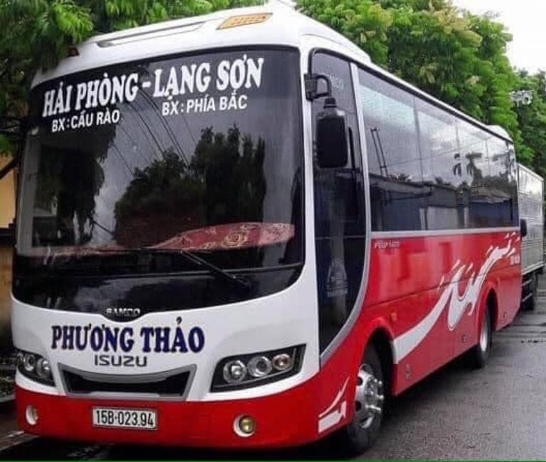 Nhà xe Phương Thảo từ Hải Phòng đi Bắc Ninh
