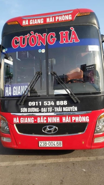 Cường Hà - Xe khách từ Quế Võ Bắc Ninh đi Hải Phòng