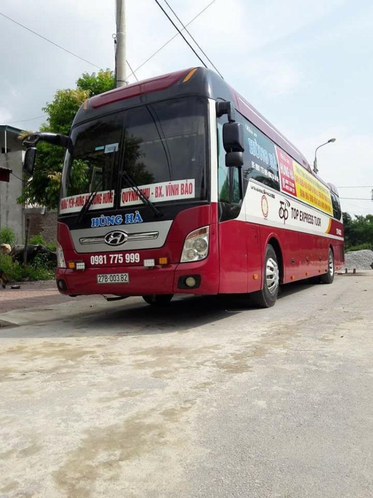 Xe Hùng Hà đi Vĩnh Bảo Hải Phòng