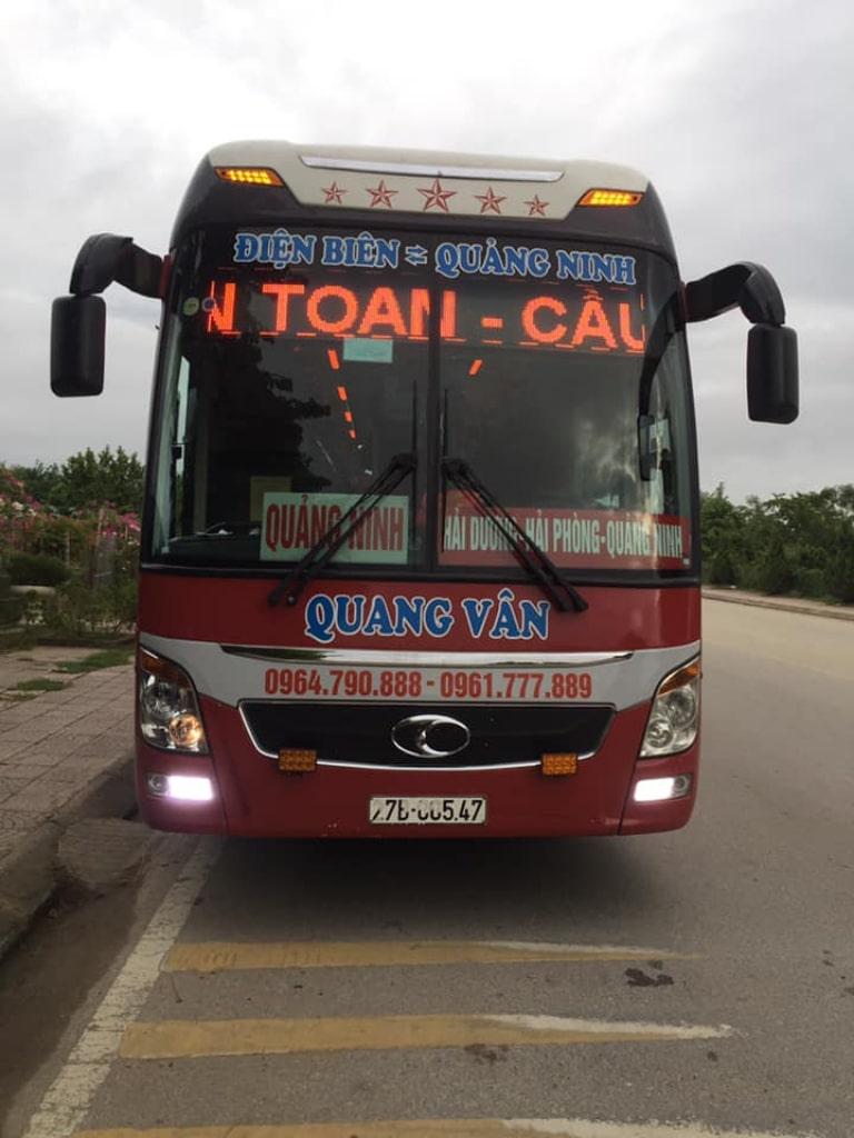 Xe khách Quang Vân Điện Biên