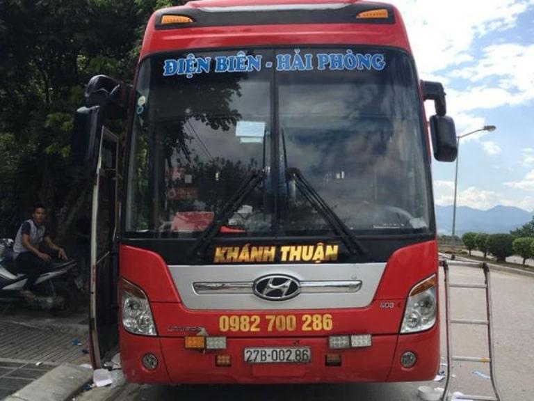 Khánh Thuận - xe chuyên tuyến đi Điện Biên