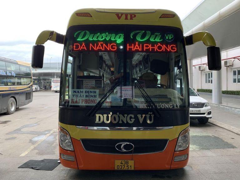 Dương Vũ - Vé xe khách Hải Phòng Hà Tĩnh.