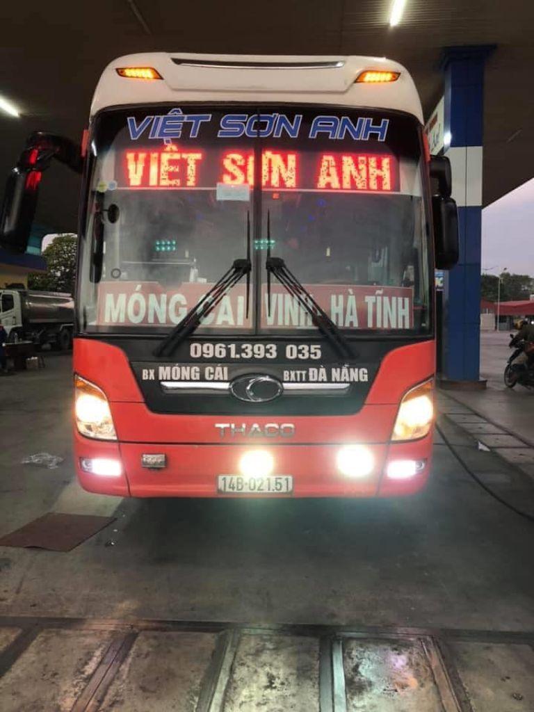 Việt Sơn Anh - Xe khách giường nằm Hải Phòng Hà Tĩnh tiện lợi.