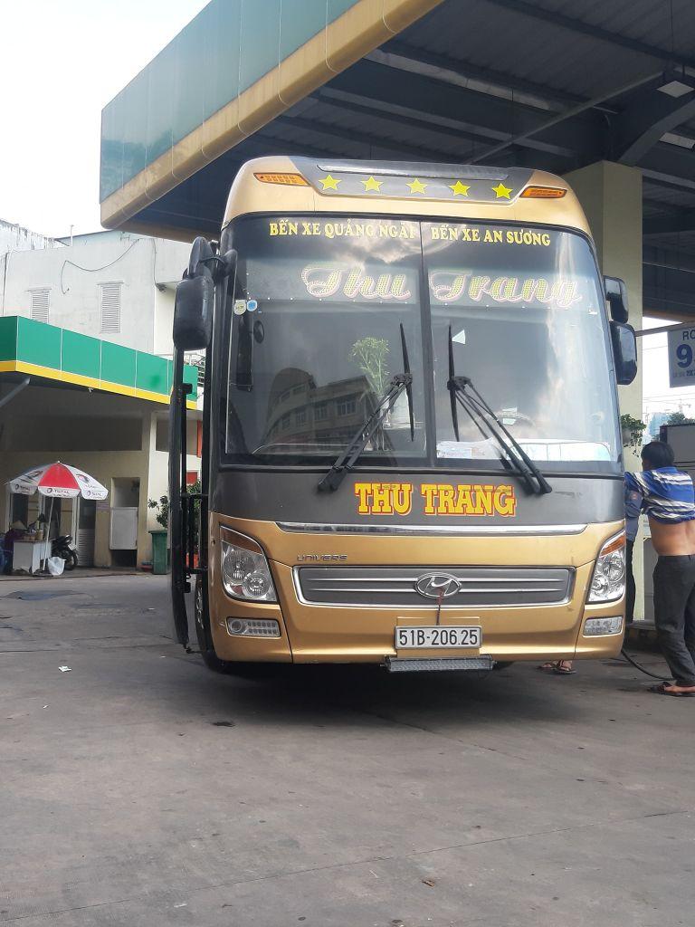Thu Trang - Xe khách đi từ Hải Phòng đến Hà Tĩnh.