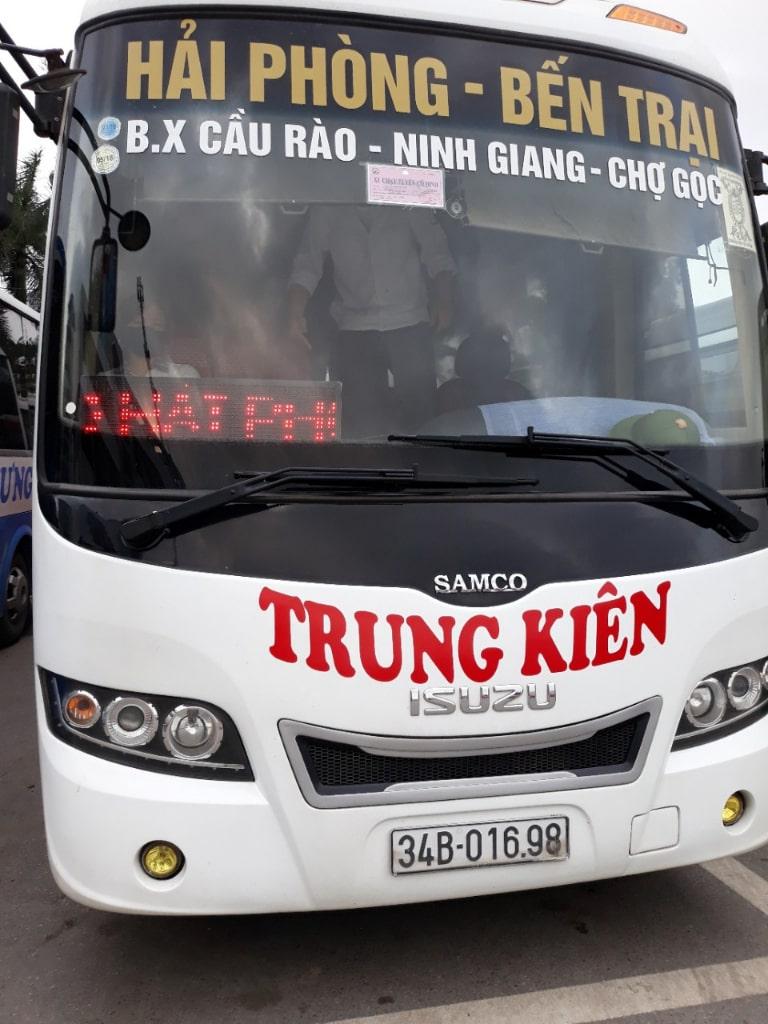 Xe khách chất lượng cao Trung Kiên