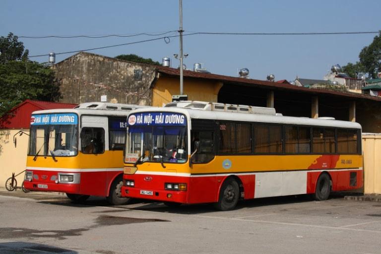 Xe bus liên tỉnh Hải Phòng - Hải Dương