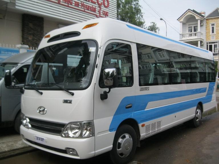 Xe khách Đại Dương chuyên tuyến xe đi Hải Phòng