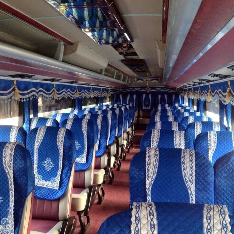 Ghế ngồi xe Thanh Long