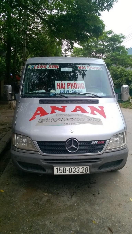 An An - Xe Hải Phòng đi Lạng Sơn tiện ích