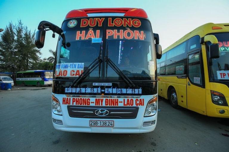 Xe khách Duy Long Lào Cai