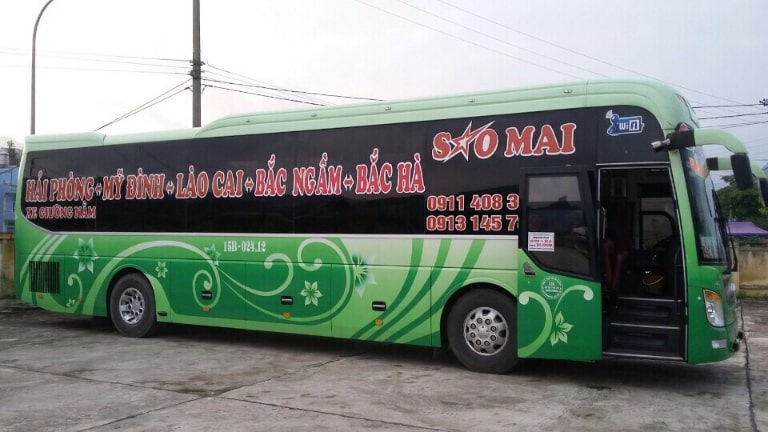 Xe khách Sao Mai Hải Phòng Sapa