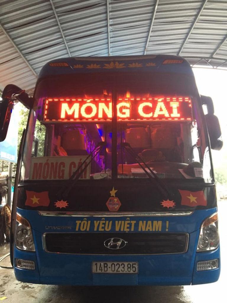 Xe khách www Ô Hô Hải Phòng