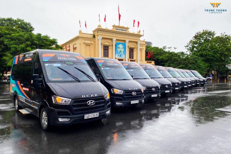 Hệ thống xe chất lượng của trung Thành Limousine