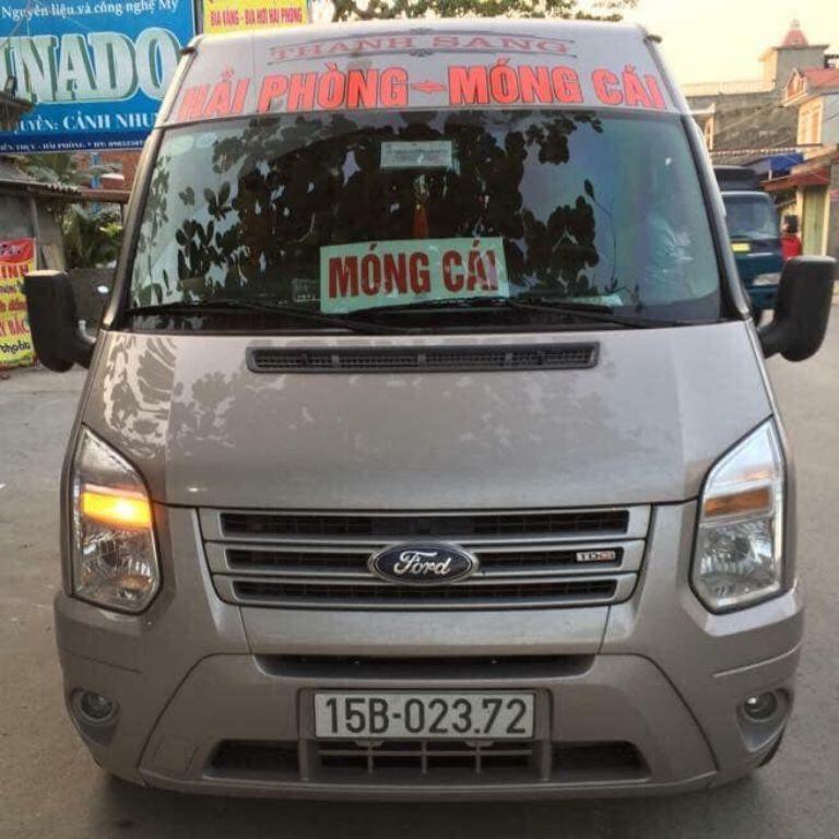 Xe Thanh Sang 16 chỗ đi Móng Cái Quảng Ninh