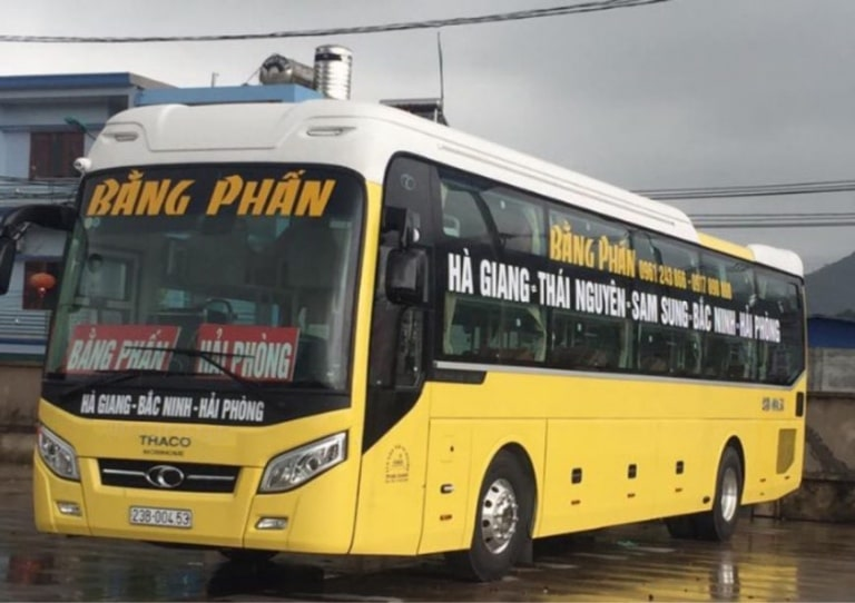Bằng Phấn - Xe từ Hải Phòng đi Tuyên Quang