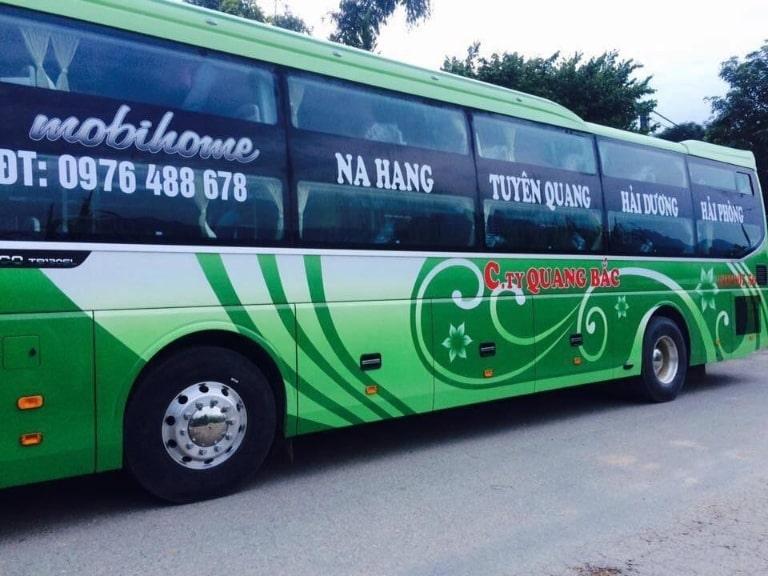 Quang Bắc - Xe khách chạy Hải Phòng Tuyên Quang