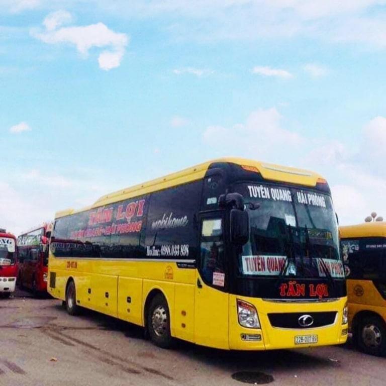 Xe khách Hải Phòng Tuyên Quang