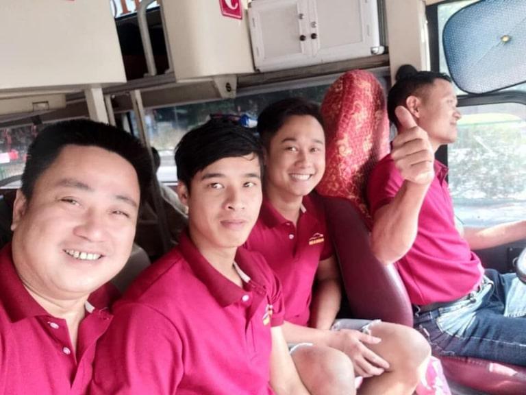 Đội ngũ nhân viên thân thiện cảu Quảng Anh