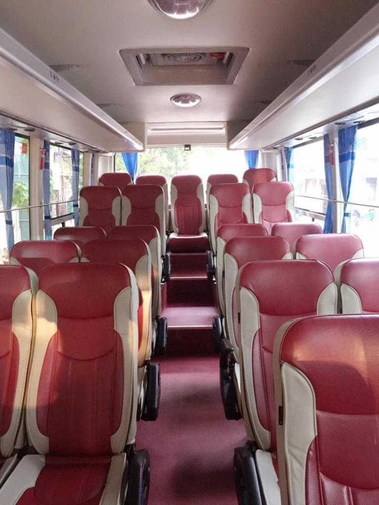 Ghế ngồi xe Thủy Bộ
