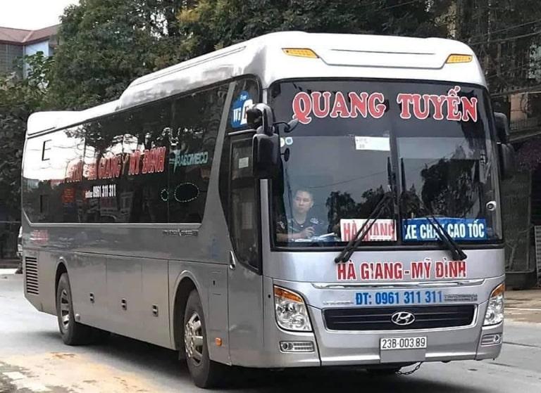 Xe khách Quang Tuyến