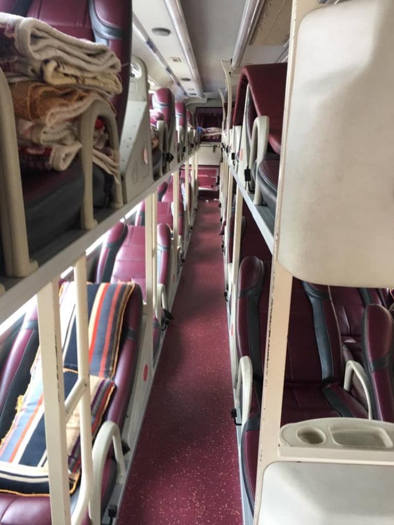 Giường nằm xe Đăng Quang