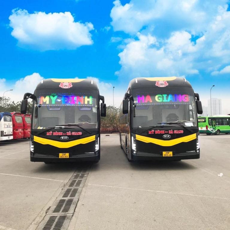 Xe khách Mạnh Quân chuyên tuyến Hà Nội - Hà Giang