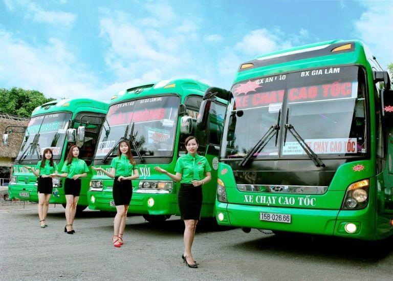 Xe khách Ô Hô chạy cao tốc Yên Nghĩa Hải Phòng