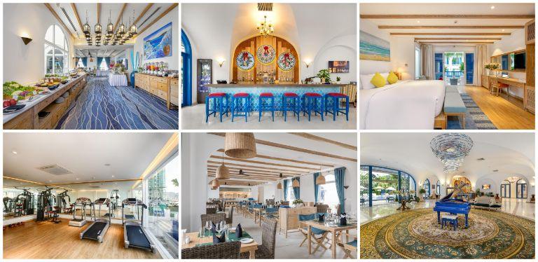 Kiến trúc tại Risemount Resort Danang