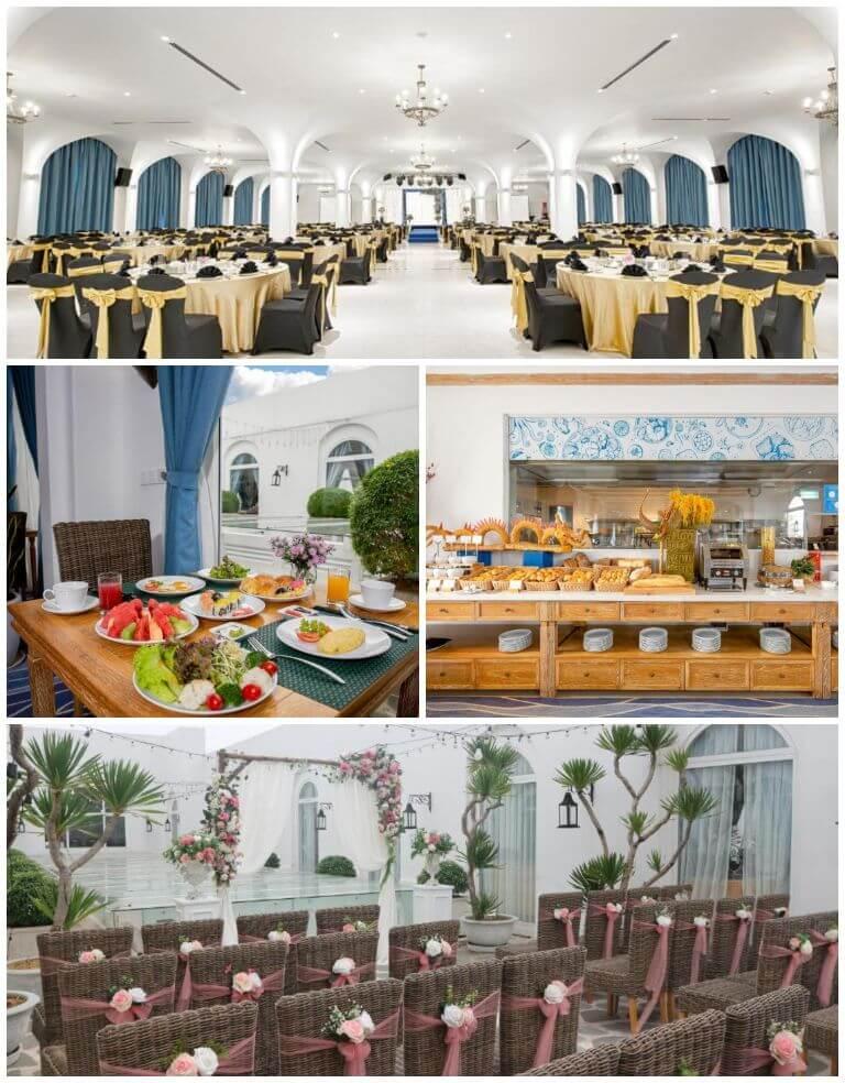 Không gian rộng có thể tổ chức tiệc cưới, hội nghị