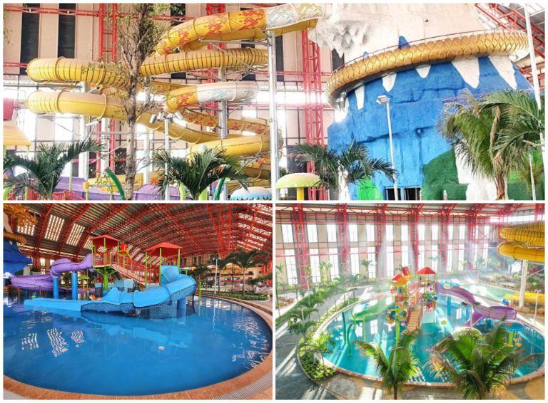 Công viên nước tại Mikazuki Japanese Resort & Spa