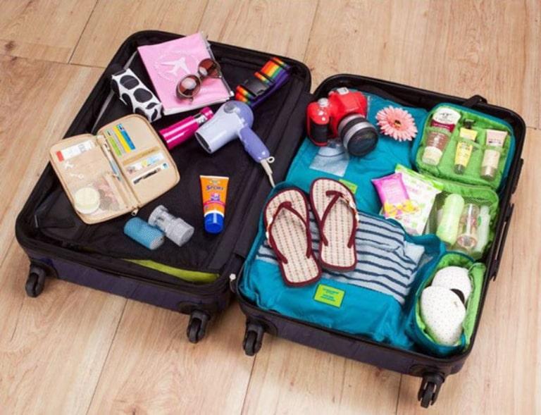 Chuẩn bị đầy đủ các đồ dùng cần thiết