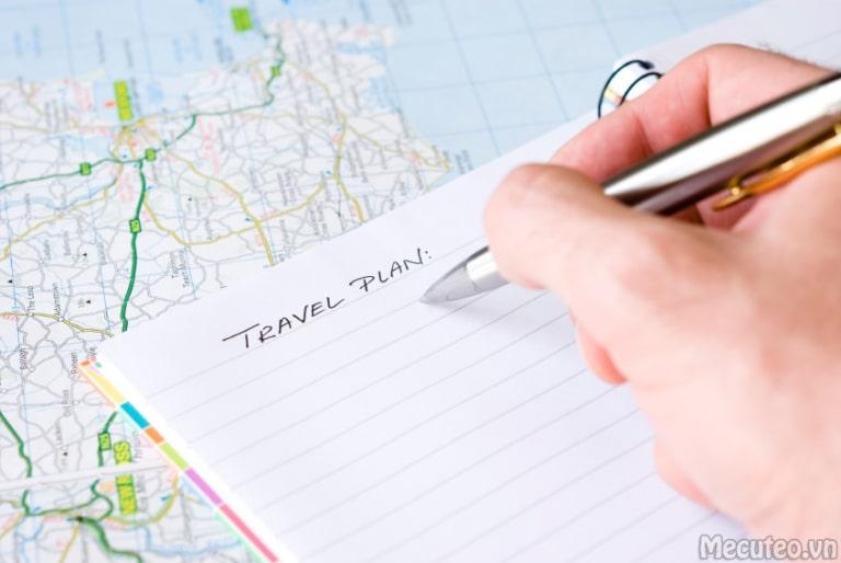 Lựa chọn một lịch trình phù hợp cho chuyến đi của bản thân