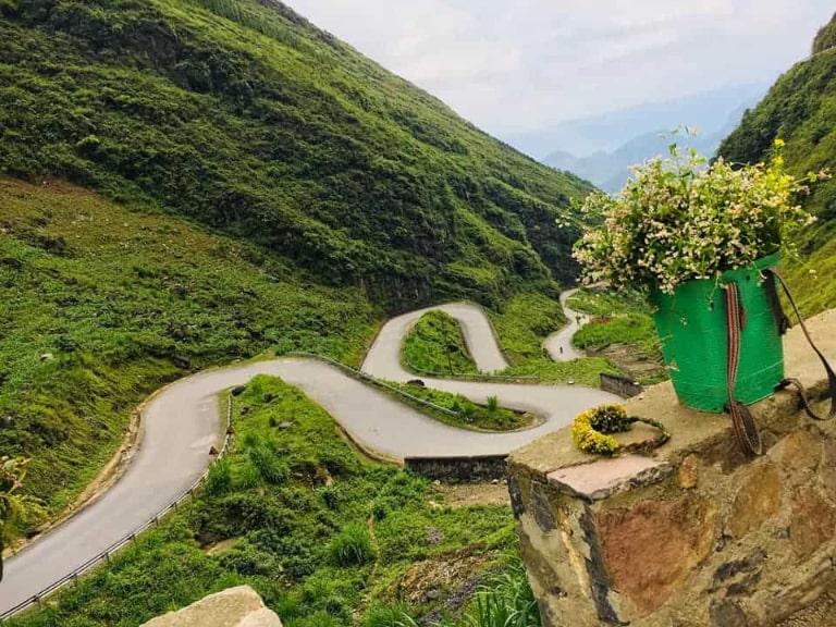 Con dốc nổi tiếng của Hà Giang