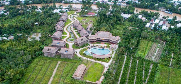 Toàn cảnh khu resort