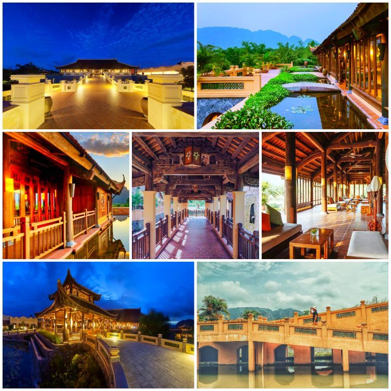 Chi tiết các hạng phòng tại resort Emeralda Ninh Bình