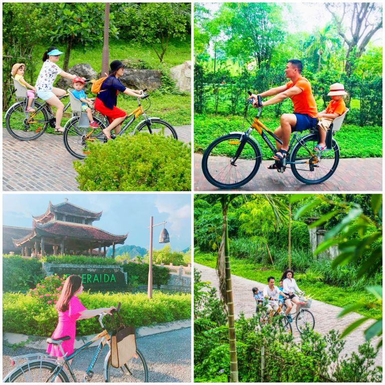"""Đạp xe khám phá """"ngôi làng xanh"""""""