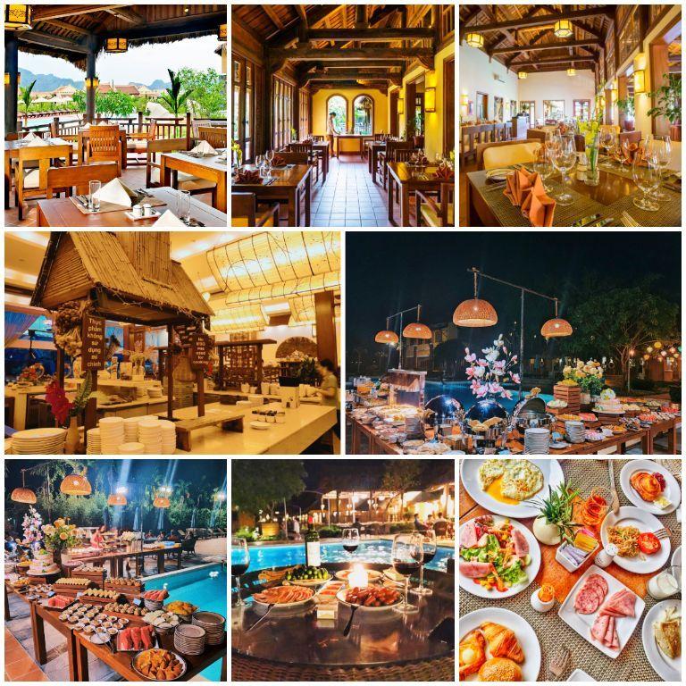 Ẩm thực đặc sắc của Emeralda Resort Ninh Bình