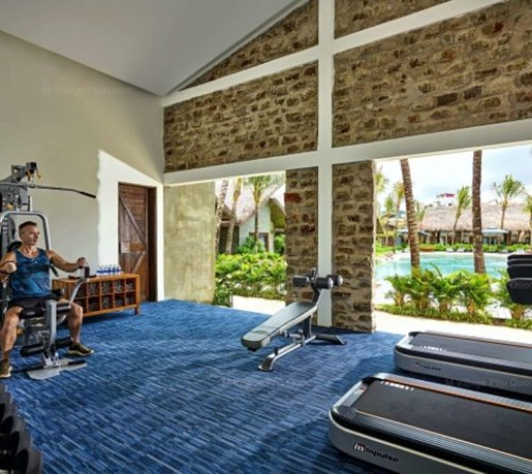 Phòng tập gym tại M resort Phú Quốc