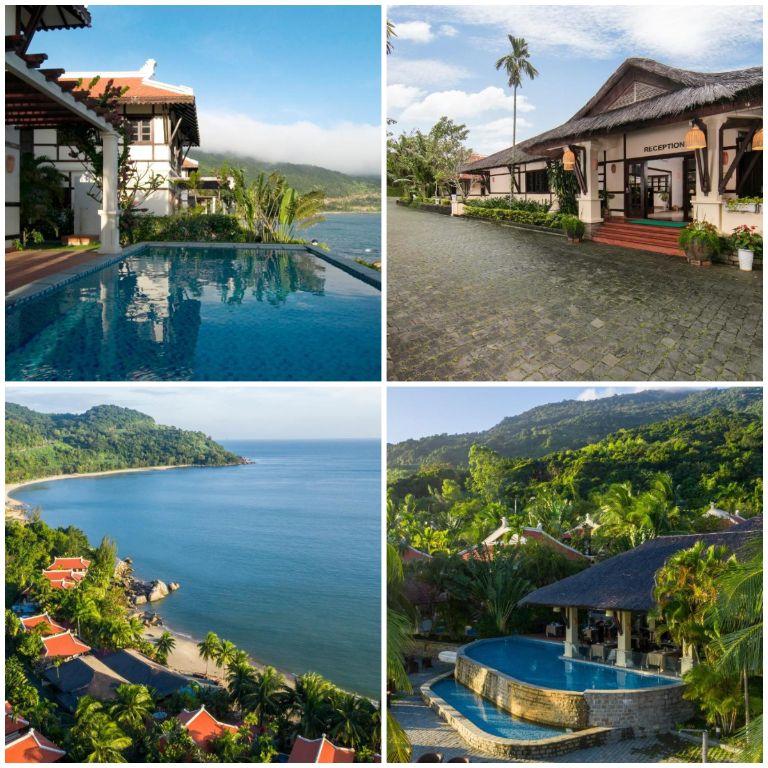 Khung cảnh bao quát của Sơn Trà resort