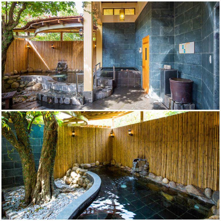 Dịch vụ Onsen và Sauna tại resort