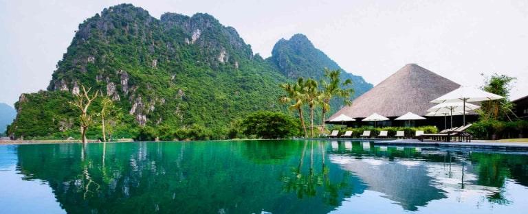 Khung cảnh đẹp như mơ tại resort Serena Kim Bôi Hòa Bình
