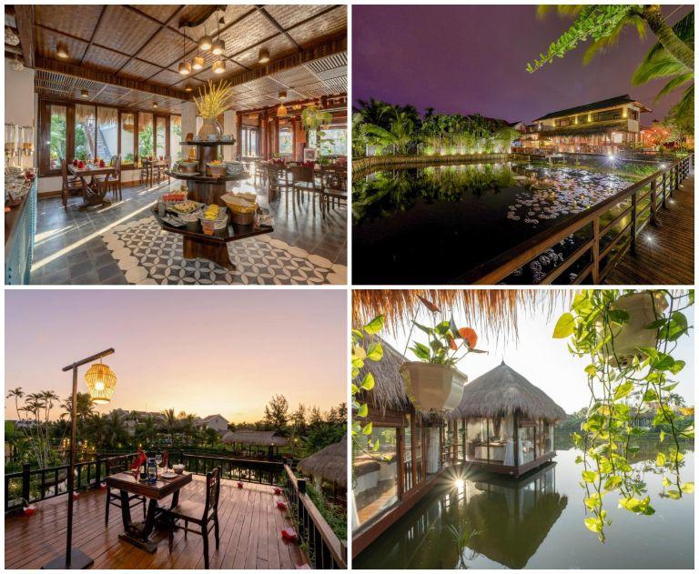 Toàn cảnh khu resort 4 sao Đà Nẵng