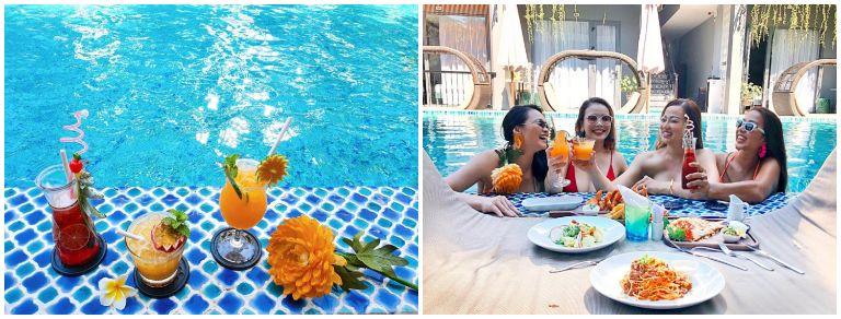 Ẩm thực tại khu nghỉ dưỡng resort 4 sao Hội An